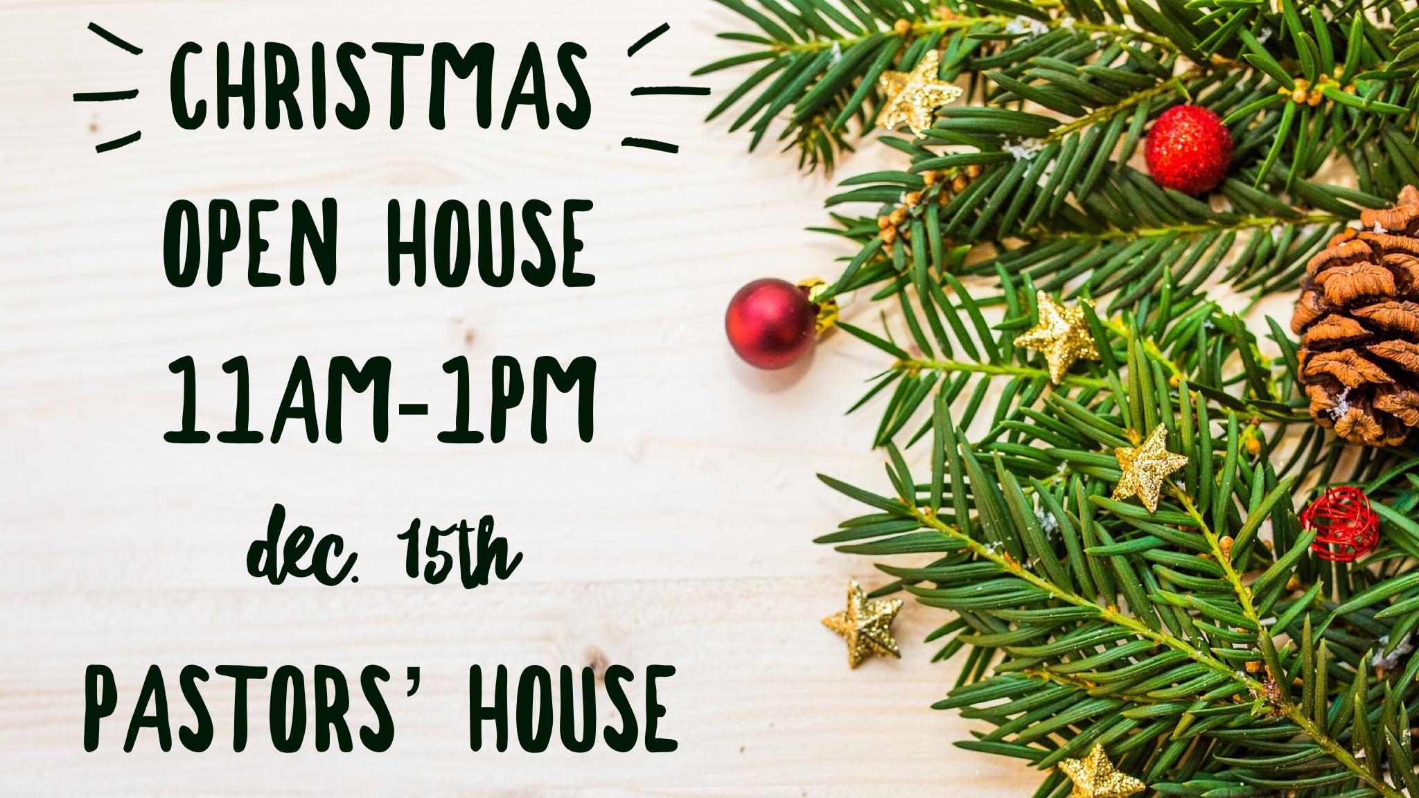 Christmas Open House.Christmas Open House Victory Center